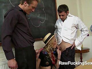 Raw Fucking Sex - Chloe Conrad Rough FMM Threesome