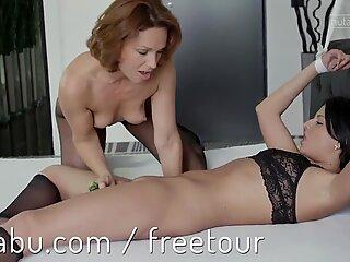 Kinky pleasures unleashed for lesbian lovers