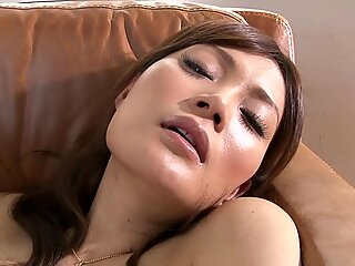 MILF With Small Tits Does A Solo Audition