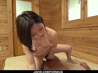 Minami Asano feels big cock in her tiny pussy