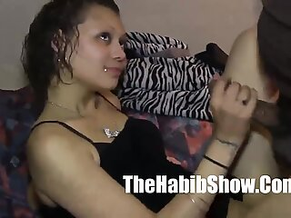 18 year old Latin freak fucked by 14 inch moster dick P2