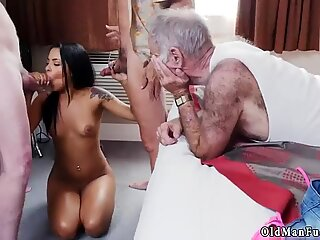 Old granny doggy style xxx Staycation with a Latin Hottie