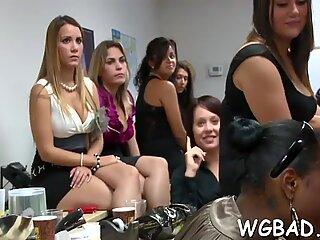 Sexual sheer pleasure with stripper