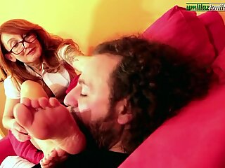 I Show You Misia Part 3- Mature Foot Domination