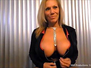 Nasty Sofia shows off her new big tits