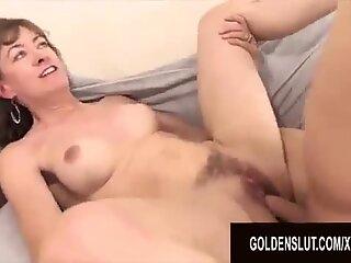 Golden Slut - Wild Granny Orgy Compilation Part 2