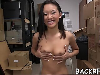 Heavenly japanese chick Alina Li gets orgasm