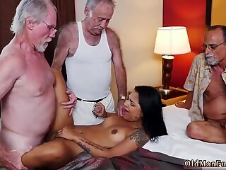 Old mom seduce girl and german Staycation with a Latin Hottie