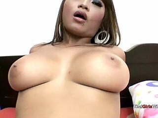 Big boob Thai babe fucked doggystyle