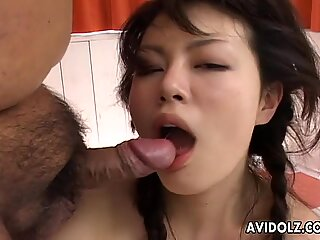 Asian cuttie getting her innocent pussy fucked har