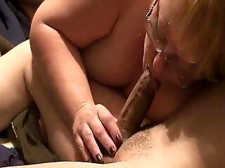 50 yo redhead shellz sucking cock