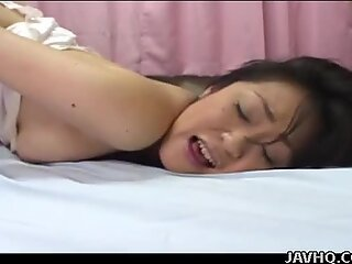 wooly Japanese honey 69s and rides her hard and insane paramour uncensored